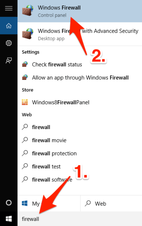 Step to Shutdown remote computer is to After That Open Firewall